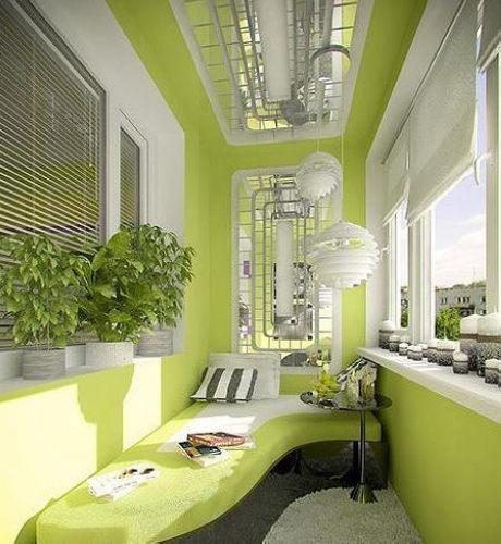 客厅阳台装修效果图 14款个性设计打造时尚家