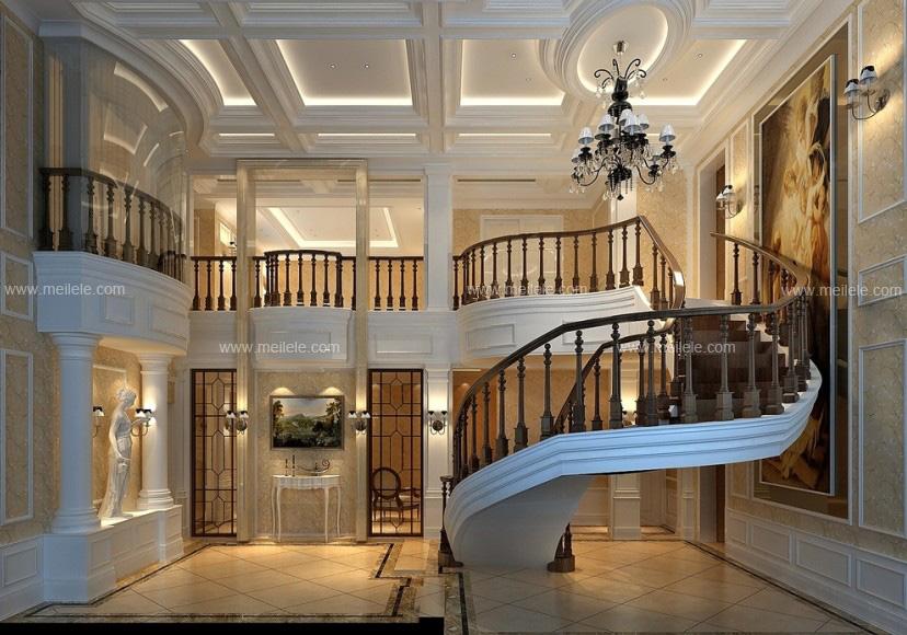 下面是几款阁楼楼梯装修效果图,让你未进阁楼就可以感受到阁楼的气质