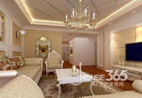 客厅吊顶效果图 小户型装修案例绝对时尚
