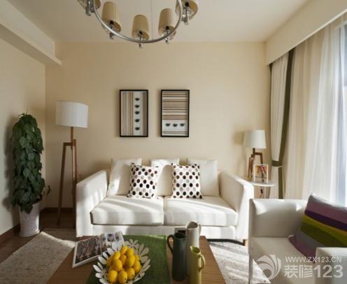 这样的客厅设计的原则:看似简单
