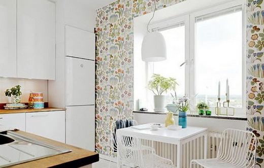 2014室内装修效果图 新嫩厨房好风靡