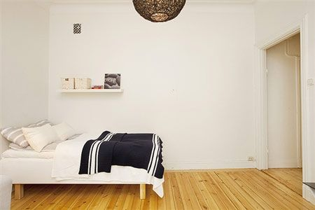 超好看的白色系流行家装 让你的单身公寓不再孤单