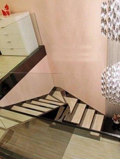 7万装修48平时尚家 复式房子装修效果图