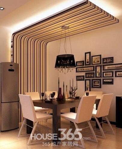 餐廳吊頂效果圖 時尚裝修美景抬頭即可見
