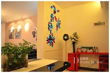 创意墙面设计案例 简约时尚现代家