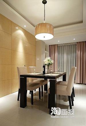 时尚婚房装修 95平米温馨家居案例