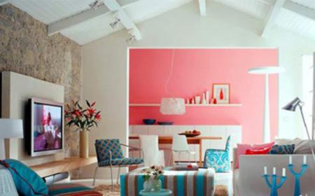 流行的客厅背景墙设计 画龙点睛之笔