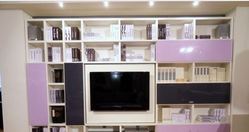 简约式电视背景墙经典设计图