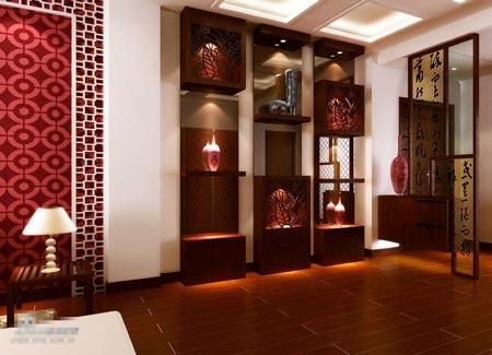 2014年最新20款中式家装客厅效果图 气质超赞